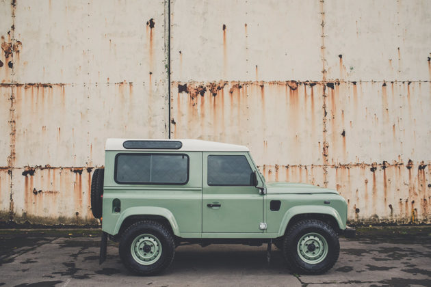 Project Camper - Land Rover Defender 90