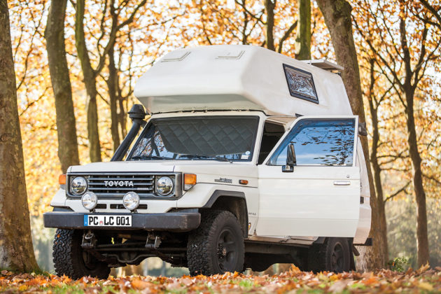 Project Camper - Toyota Land Cruiser J7